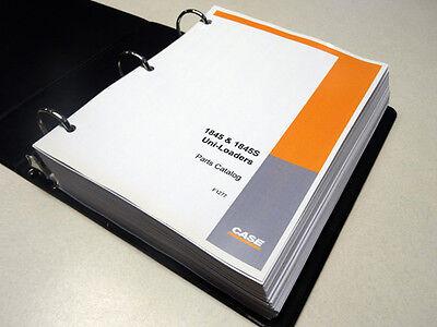 Case 18451845s Uni-loader Skid Steer Parts Catalog Manual List Book New