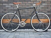 Brand new Hackney Club single speed fixed gear fixie bike/ road bike/ bicycles + 1year warranty hh89
