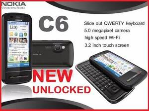 NEW 3G NOKIA C6-00 x 7 UNLOCKED O484 189 733 $85each. Castle Hill The Hills District Preview