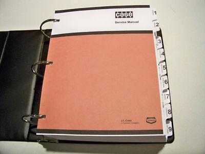 Case 480d480d Ll Loader Backhoe Service Manual Repair Shop Book New Wbinder