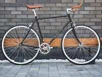 Brand new Hackney Classic single speed fixed gear fixie bike/road bike/ bicycles 8uih6g