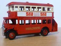 Wanted - AEC Regent D/D Bus London Transport SRA Survey Research (London) Promotional by Lledo