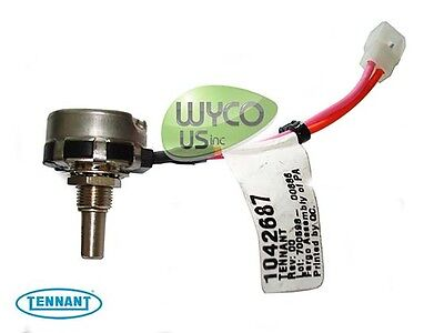 1042687 Wire Assy Potentiometer 45k Ohmtennant Speed Scrub Ss3 T3 T3e T5e