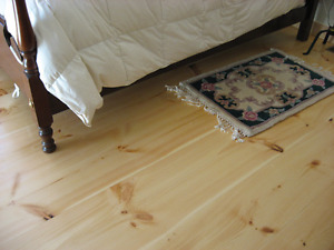 HIGHLAND FOREST PRODUCTS-PINE WIDE PLANK FLOORING