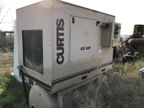 Curtis 40 HP Screw Air Compressor Package