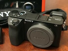 Sony a6500 Mirrorless Camera