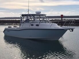 Boston Whaler Conquest 305 with Twin 250hp Mercury Verado For Sale