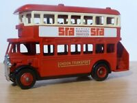 Wanted - AEC Regent D/D Bus London Transport SRA Survey Research (London) Promotional by Lledo