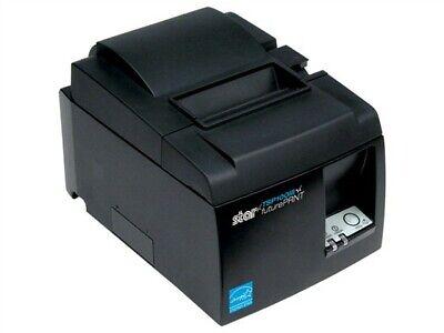 Star Tsp100iiilan Printer- Dark Gray - Never Used Open Box Wextra Receipt Tape