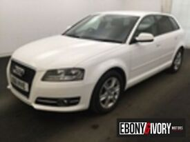 Audi A3 71777 MILES + 1.6 TDI SE 5dr + FULLY SERVICED (white) 2011