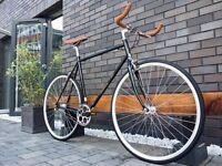 Brand new Hackney Club single speed fixed gear fixie bike/ road bike/ bicycles + 1year warranty eeb