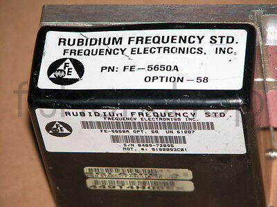 Fe-5650a Output 10mhz Rubidium Atomic Frequency Standard