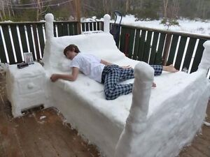 Searching for a cooler place to sleep?
