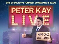 Peter Kay Tickets X2 Arena Birmingham, Friday 24th May 2019 (27 Rows from Front!!!)