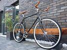 Brand new Hackney Club single speed fixed gear fixie bike/ road bike/ bicycles + 1year warranty 2wh