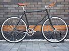 Brand new Hackney Club single speed fixed gear fixie bike/road bike/ bicycles with 1-year warranty T