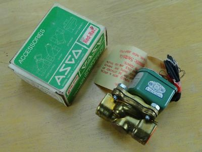 New Asco Red Hat 8210d2hw 220v Hot Water Valve 12 5-125 Pressure With Coil
