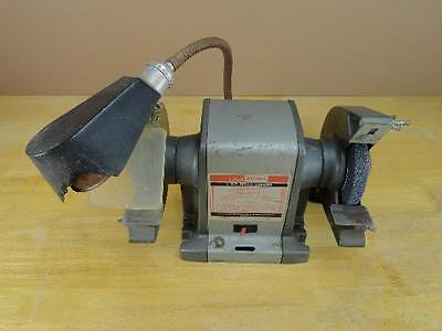 Vintage Used Sears Craftsman 1 3 Hp Bench Grinder 115 Volts 3850 Rpm Ebay