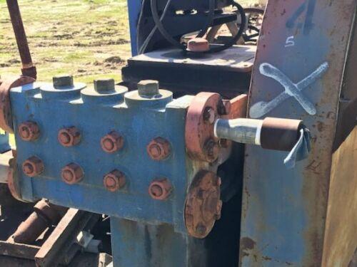 National Pump Model J-100 Reciprocating Pump
