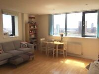 Spacious 2 bed 2 bath flat 10 sec away from DLR DSS accepted