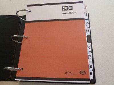Case 1845 Uni-loader Skid Steer Service Manual Repair Shop Book New With Binder