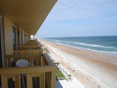DAYTONA/ORMOND BEACH FLORIDA~5 NITES~OCEANFRONT HOTEL~BALCONY~$50 VISA CARD