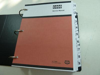 Case 680h Loader Backhoe Service Manual Repair Shop Book New With Binder