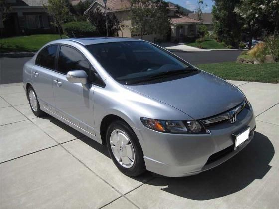 2008 Honda Civic Hybrid Sedan - WITH BRAND NEW HYBRID BATTERY