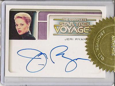 Complete Star Trek Voyager Case Topper Auto CA1 Jeri Ryan Seven of Nine