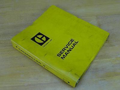 Oem Caterpillar Cat 3208 Industrial Engine Service Repair Manual Book 75v 90n