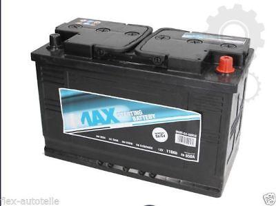 Autobatterie Starterbatterie PKW 12V 110AH Porsche Audi BMW PEUGEOT RENAULT VW