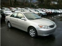2002 TOYOTA CAMRY  LE AUTO FULLY LOADED  INSPECTED