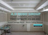 CEILING & DRYWALL REPAIR / WATER DAMAGE
