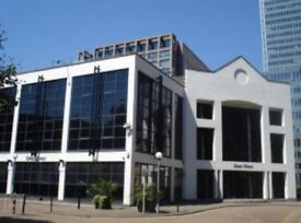 Large Office Space Available Located Only 4 Min Walk to South Quay Dlr Stn *TO LET*