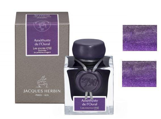J Herbin 1798 Fountain Pen Ink – Amethyste De L'Oural Collectibles