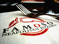 Famoso is hiring a full time dishwasher!