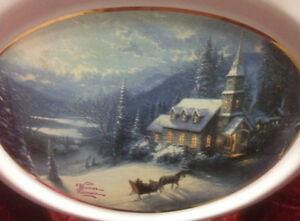Thomas Kinkade Vase / Planter Kingston Kingston Area image 2
