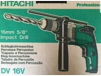 Hitachi Impact Hammer Drill DV 16v
