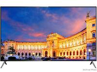 "Hisense LTDN58K700XWTSEU 3D 58"" 4K UHD TV SMART Silver Graded Boxed Item"