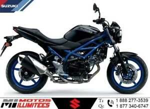 2019 Suzuki SV650 ABS Garantie 5 ans Rabais sur PDSF