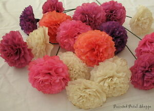 Custom Dyed Coffee Filter Flowers/ party decor/ wedding decor Belleville Belleville Area image 3