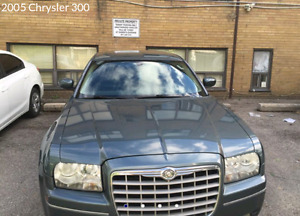 2005 CHRYSLER 300-SERIES,SAFETY AND E-TEST,LOW K 163,000 ONLY