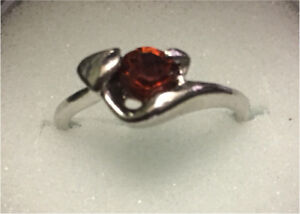 Downsizing - silver plated rings