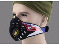 Cinqro Respro sports face mask NEW and UNUSED