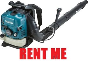 BACK PACK BLOWER FOR RENT