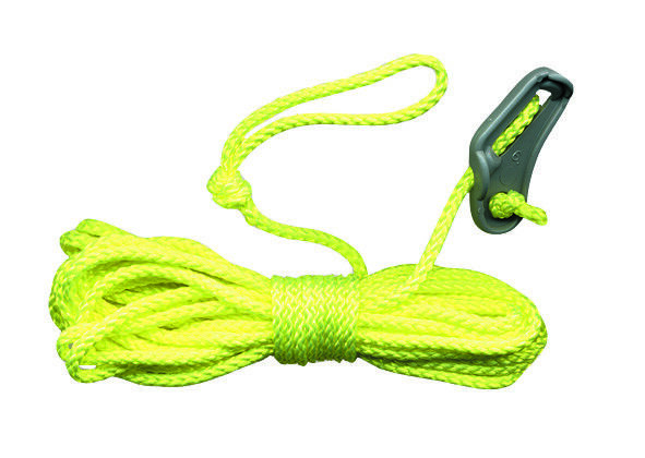 10 Abspannleine 3m Seil Zeltleine Sturmleine Spannleine Abspannseil Zelt BW grün