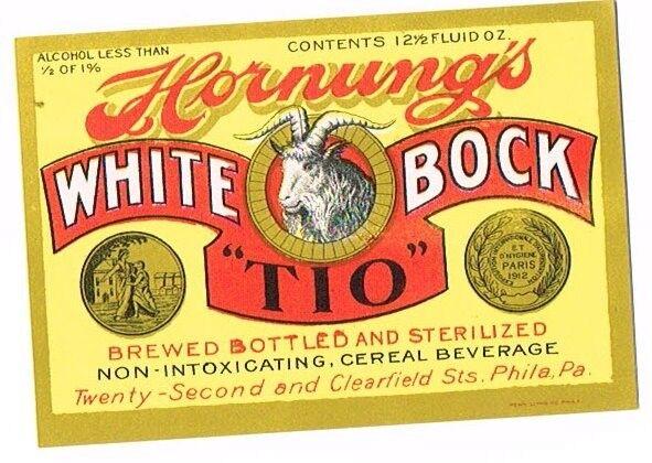 Unused 1910s ½ of 1% Philadelphia HORNUNG