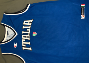 Champion Italia authentic Mens Basketball top MEDIUM great condition Bulleen Manningham Area Preview
