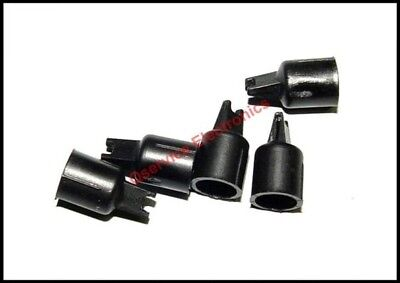 5 Pcs Lot Tektronix 015-0201-05 Probe Tip Ic Test Black Color - New