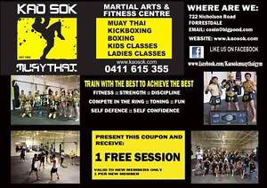 KAOSOK MUAY THAI AND FITNESS CENTRE Forrestdale Armadale Area Preview